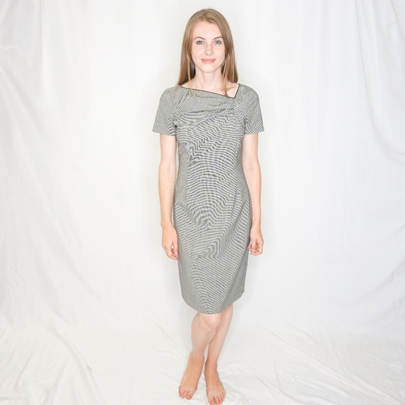 RED Valentino Dresses & Skirts - RED VALENTINO Micro Houndstooth Dress Career 0424